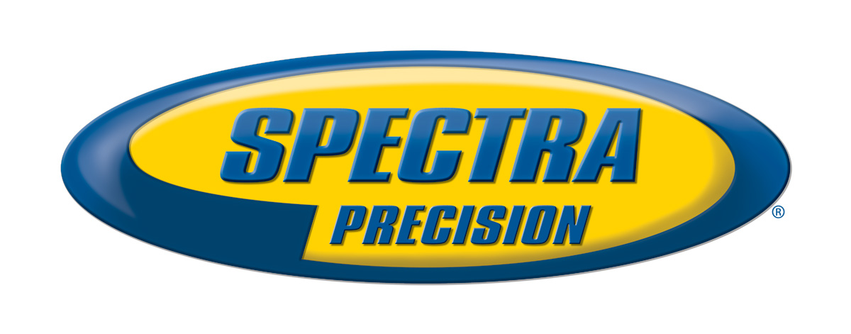 spectra precision 3d master flat logo